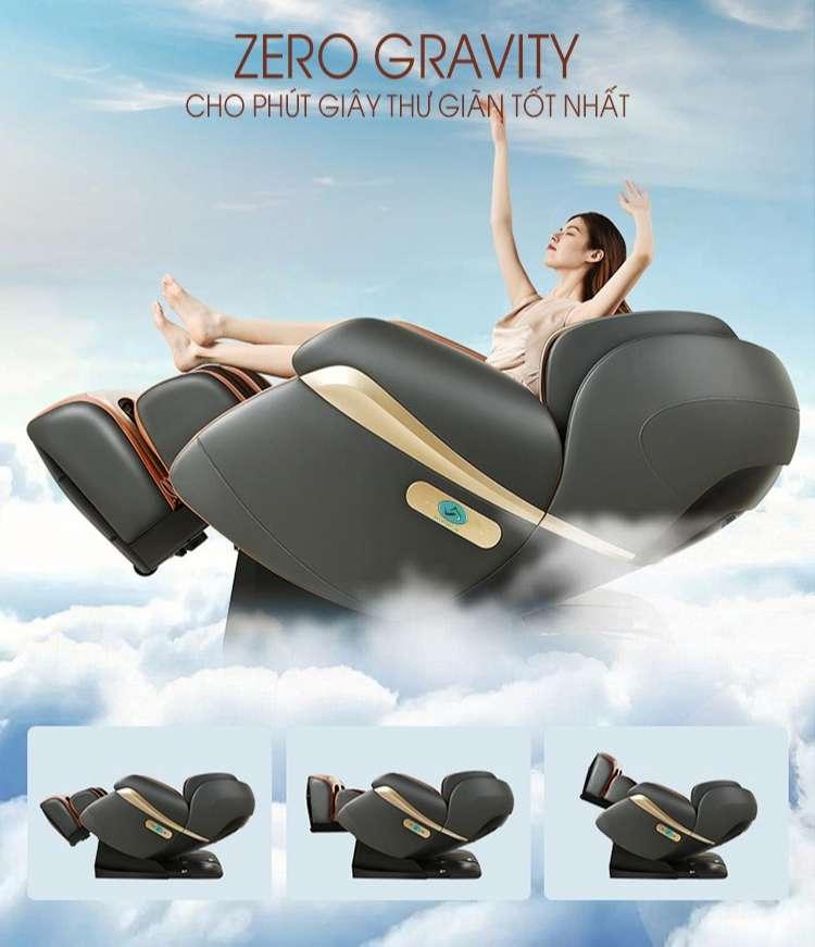 Ghế massage cao cấp Royal Sky Black Hole