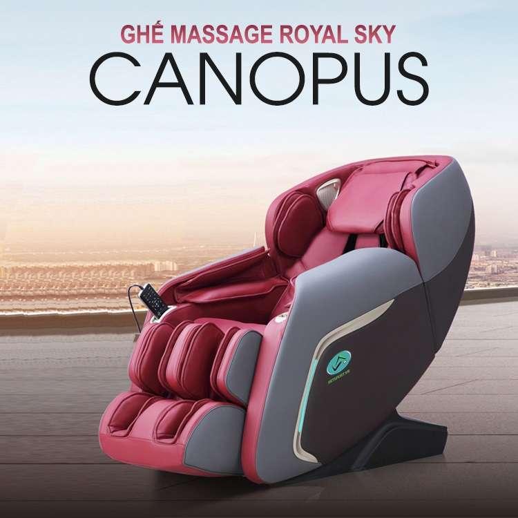 Ghế massage cao cấp Royal Sky Canopus