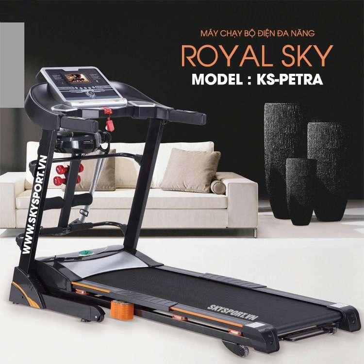 Máy chạy bộ đơn năng Royal Sky rs petra