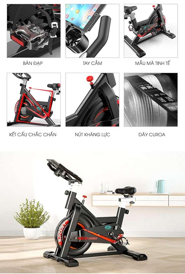 Xe đạp tập đa năng Royal Sky Gammar